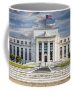 The Us Federal Reserve Board Building Coffee Mug by Susan Candelario