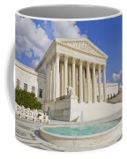 The Us Supreme Court Building Coffee Mug