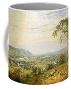 The Valley Of Wyoming Coffee Mug
