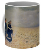 The Vanquished.  Requiem For The Dead, 1878-79 Oil On Canvas Coffee Mug
