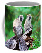 The Vervet Monkey. Lake Manyara. Tanzania. Africa Coffee Mug