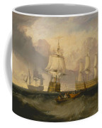 The Victory Returning From Trafalgar Coffee Mug