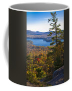 The View From Bald Mountain - Old Forge New York Coffee Mug