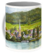 The Village Of Einruhr In Germany Coffee Mug