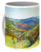 The Village Of Wieden In The Black Forest Coffee Mug