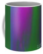The Vineyard 1 Abstract Square Coffee Mug