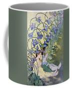 The Violets Lively Flowers Coffee Mug