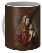 The Virgin And Child Coffee Mug by Jan van Bijlert or Bylert