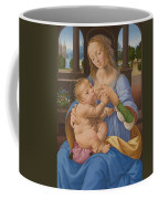 The Virgin And Child Coffee Mug