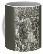 The Virgin And Child Surrounded By Angels Coffee Mug by Albrecht Durer or Duerer