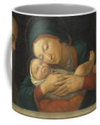 The Virgin And Child With Four Saints Coffee Mug