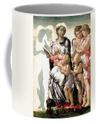 The Virgin And Child With Saint John And Angels Coffee Mug