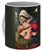 The Virgin And The Green Cushion Coffee Mug