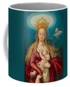 The Virgin As Queen Of Heaven Suckling The Infant Christ Coffee Mug