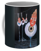 The Vision Behind The Structure Behind The Eyes Coffee Mug