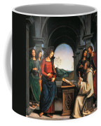 The Vision Of St Bernard Coffee Mug