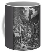 The Vision Of The Valley Of Dry Bones Coffee Mug