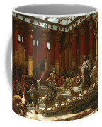 The Visit Of The Queen Of Sheba To King Solomon Coffee Mug
