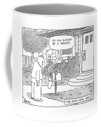 The Voice-mail Box 'you May Already Be A Winner.' Coffee Mug