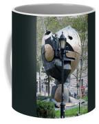 The W T C Plaza Fountain Sphere Coffee Mug