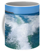 The Wake Coffee Mug by Kaye Menner
