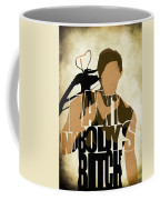 The Walking Dead Inspired Daryl Dixon Typographic Artwork Coffee Mug
