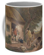 The Warrener, Engraved By William Ward 1766-1826, Pub. By H. Morland, 1806 Mezzotint Engraving Coffee Mug