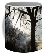 The Washington Monument Lost In The Trees Coffee Mug