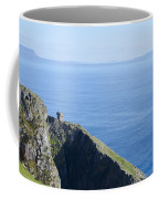 The Watchtower At Slieve League Coffee Mug