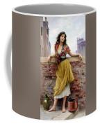 The Water Carrier Coffee Mug by Eugene de Blaas