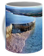 The Water With White Paint Coffee Mug