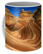 The Wave Wonder In Stone Coffee Mug