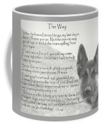 The Way Coffee Mug by Sue Long