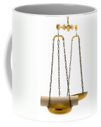 The Weight Of A Decision  Coffee Mug