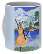 The Welcome River Coffee Mug