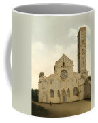 The West Facade Of The Church Of Saint Mary In Utrecht Coffee Mug