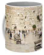 The Western Wall In Jerusalem Israel Coffee Mug