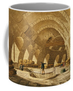 The Wheat Store, Rue De Viarmes, Engraved By I. Hill Coloured Engraving Coffee Mug