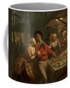 The Wheel Of Fortune, 1861 Coffee Mug
