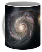 The Whirlpool Galaxy M51 And Companion Coffee Mug by Adam Romanowicz