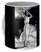 The White Deer Coffee Mug