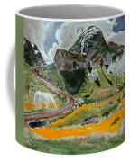 The White Horse In Spring  Coffee Mug