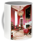 The White House Red Room Coffee Mug