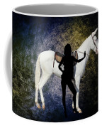 The White Mule Coffee Mug