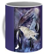 The White Raven Coffee Mug