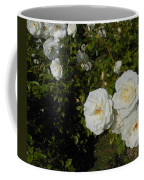 The White Rose Is A Dove Coffee Mug by Kay Gilley
