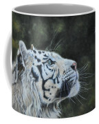 The White Tiger And The Butterfly Coffee Mug