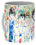 The Who - Watercolor Portrait Coffee Mug