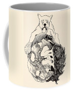 The Whole Story Of The Jaguar And The Hedgehog And The Tortoise And The Armadillo All In A Heap Coffee Mug by Joseph Rudyard Kipling