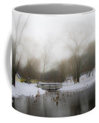 The Willows In Winter - Newtown Square Pa Coffee Mug